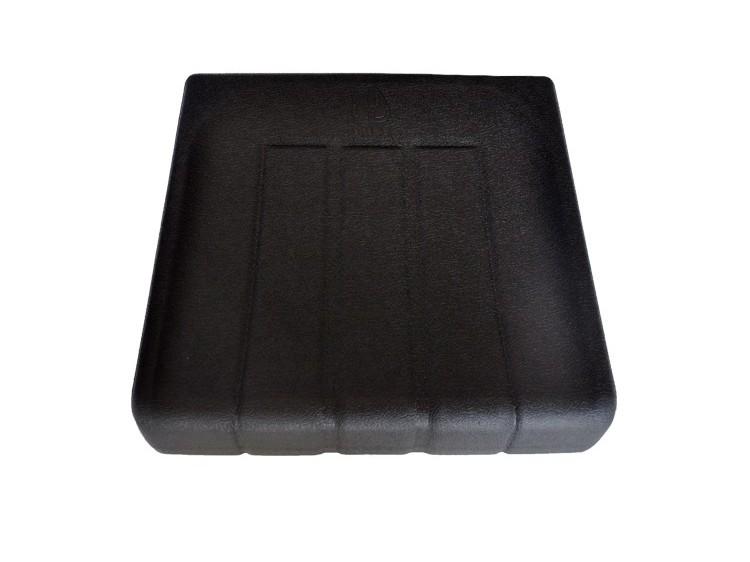 黑色PU自结皮坐垫
