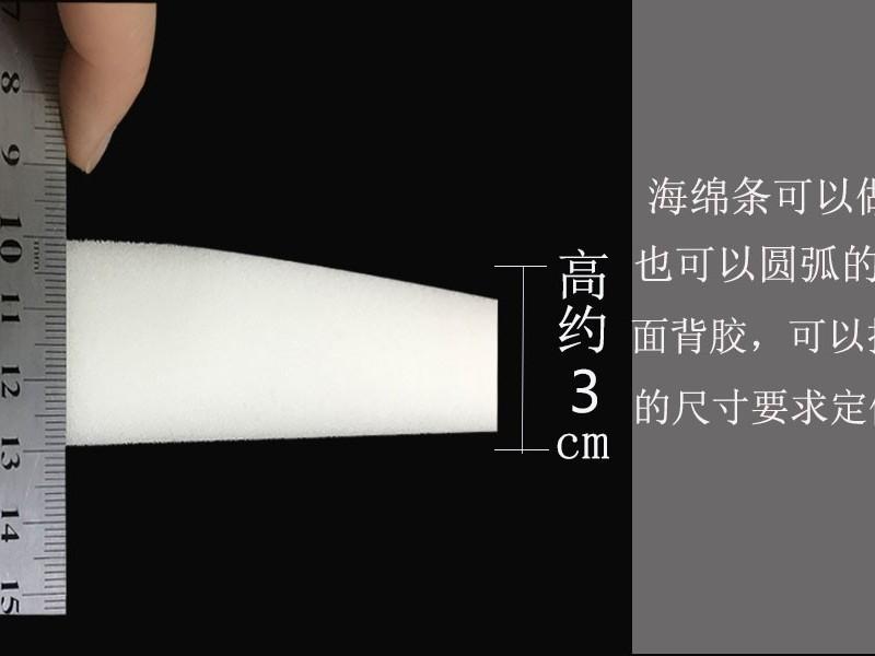 弧形防护面罩海绵直供