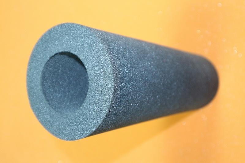 异形高密度圆柱挖孔海绵一体成型内衬
